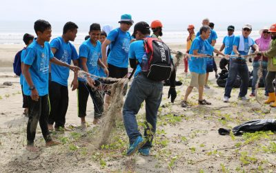 OSK Property Cleans Up Balok Beach